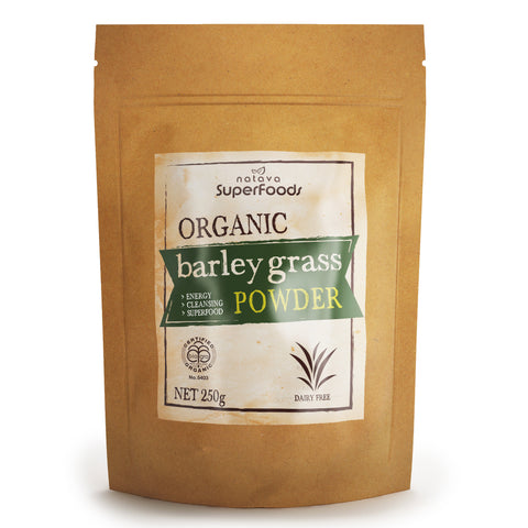 Natava Organic New Zealand Barley Grass Powder