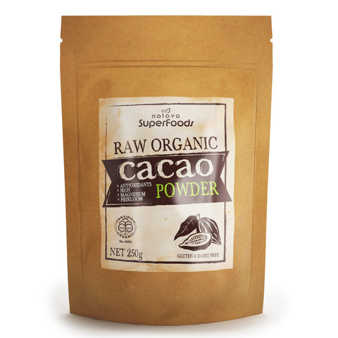 Natava Raw Organic Heirloom Cacao Powder
