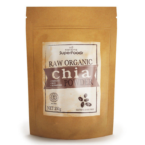 Organic Black Chia Powder