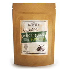 Natava Organic New Zealand Wheat Grass Powder 250g