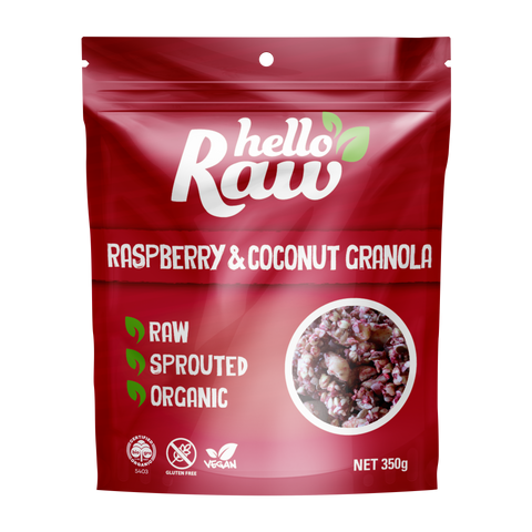 HELLO RAW GRANOLA 350G