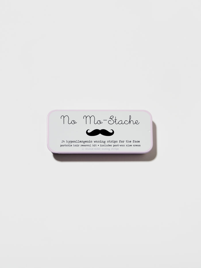 No Mo-Stache Portable Facial Hair Removal Strips (24 Strips)