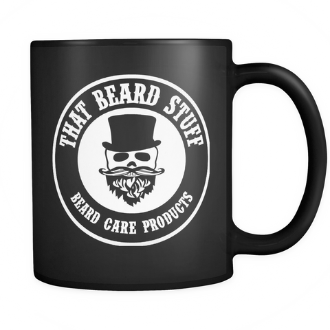 Black That Beard stuff mug