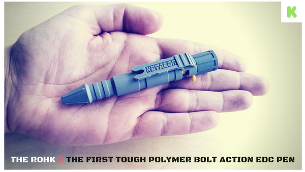 Rohk Bolt Action Tough Pen