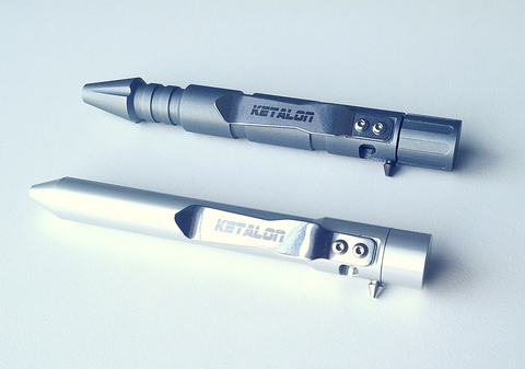 Tør (Gray) & Stor (Silver) Bolt Action Pens