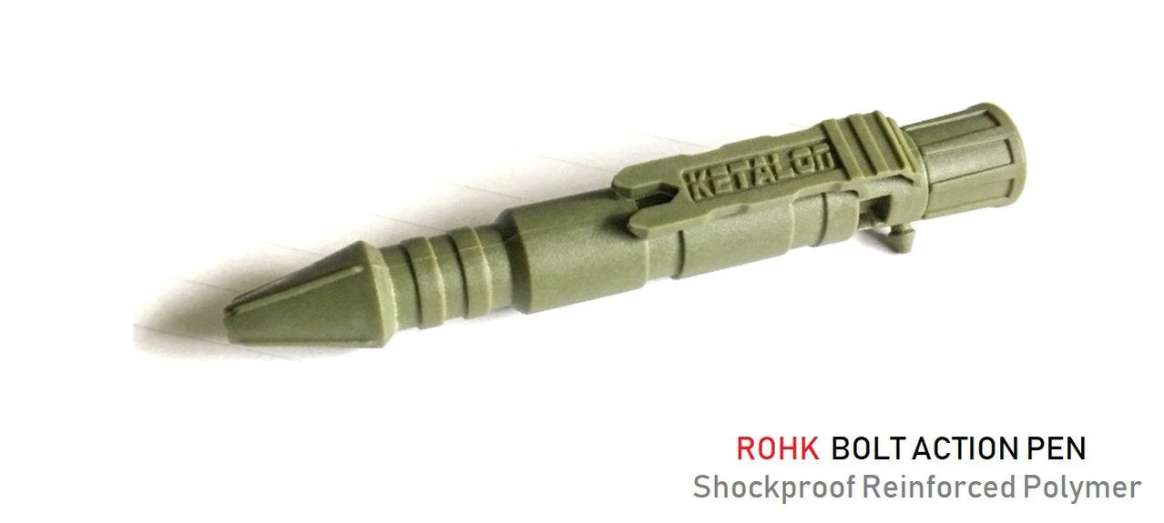 Rohk Bolt Action Pen - Now available