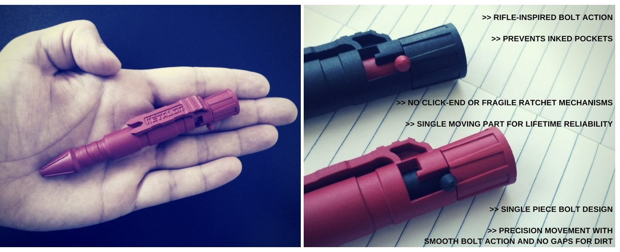 Rohk Pen || Deep Red