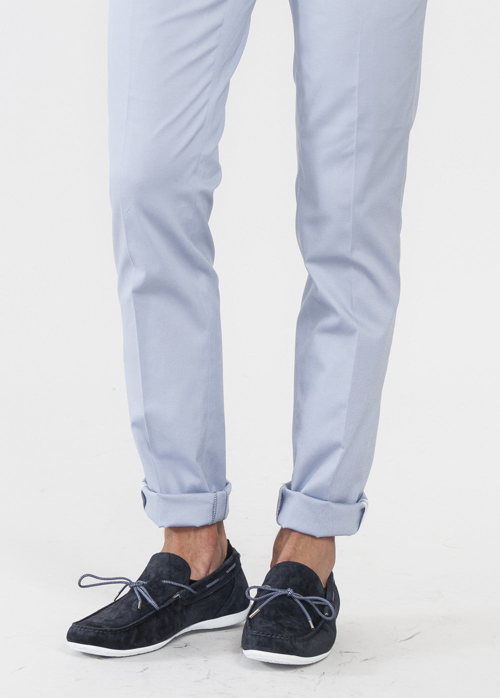 Sky Cotton Stitch Pant