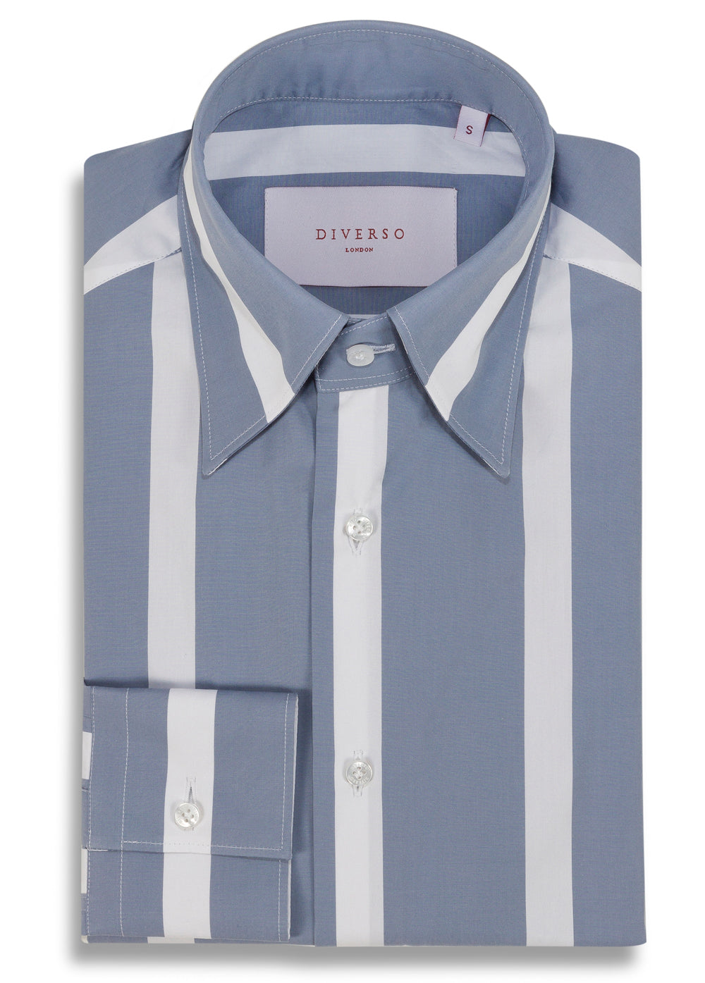 Powder Bold Stripe Nascosto Shirt