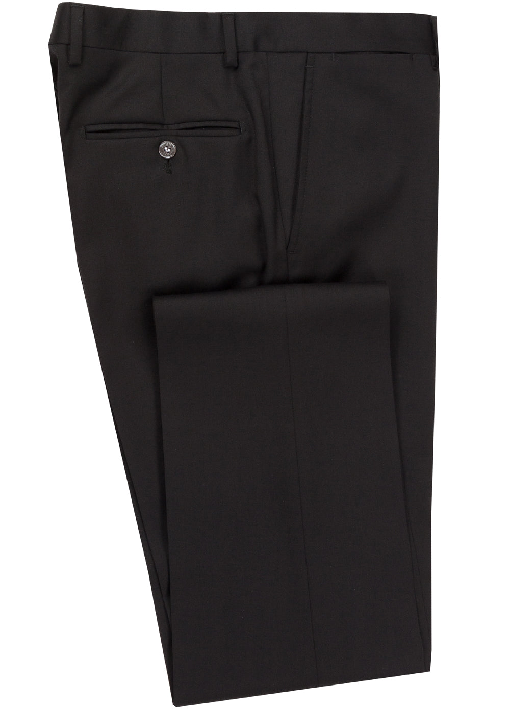 Black Luxury Wool Pant