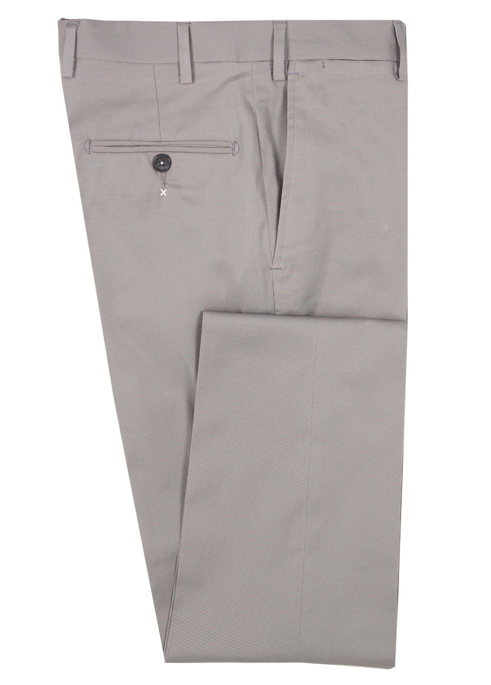 Tan Hand Stitch Cotton Pant