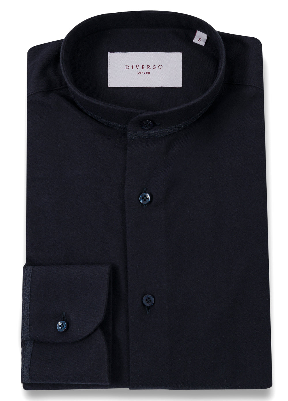 Navy Flannel Trim Guru Shirt