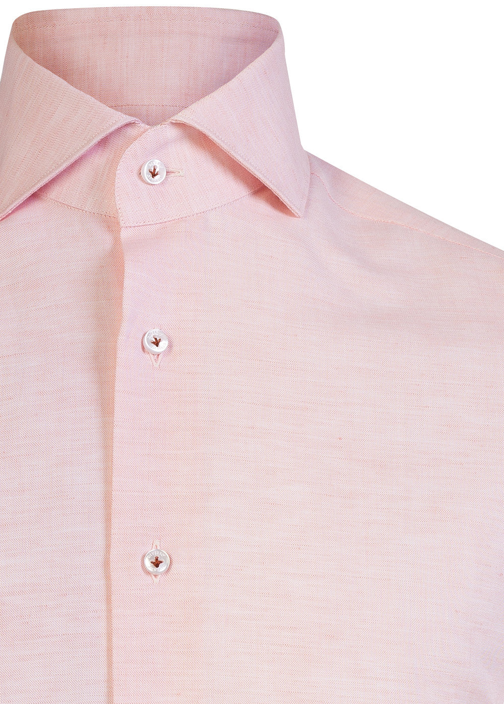 Pink with Trim Short Sleeve Shirt
