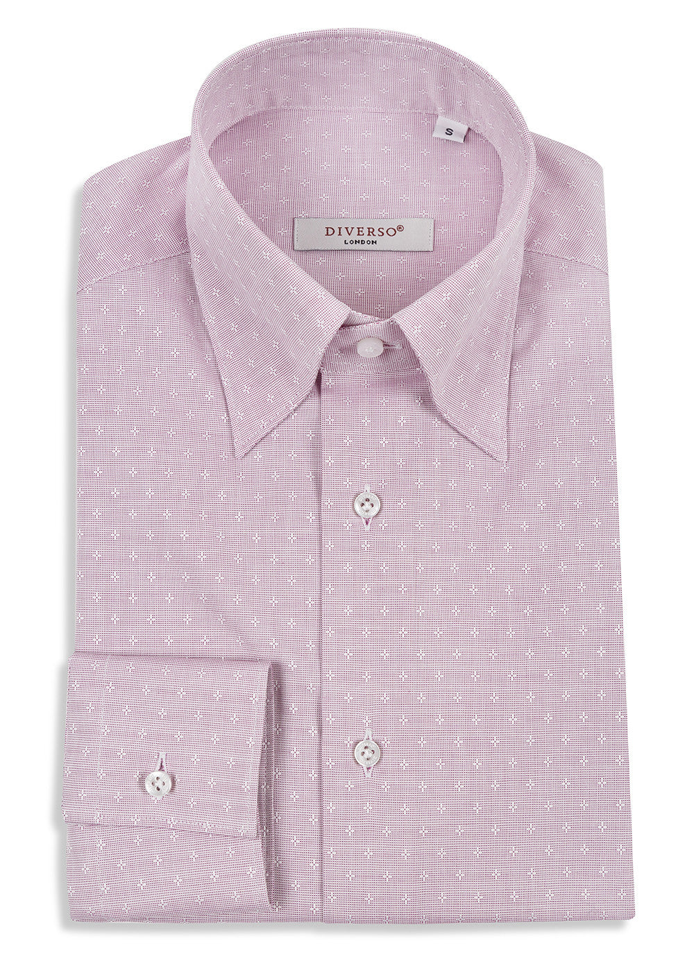 Pink Floral Oxford Nascosto Shirt