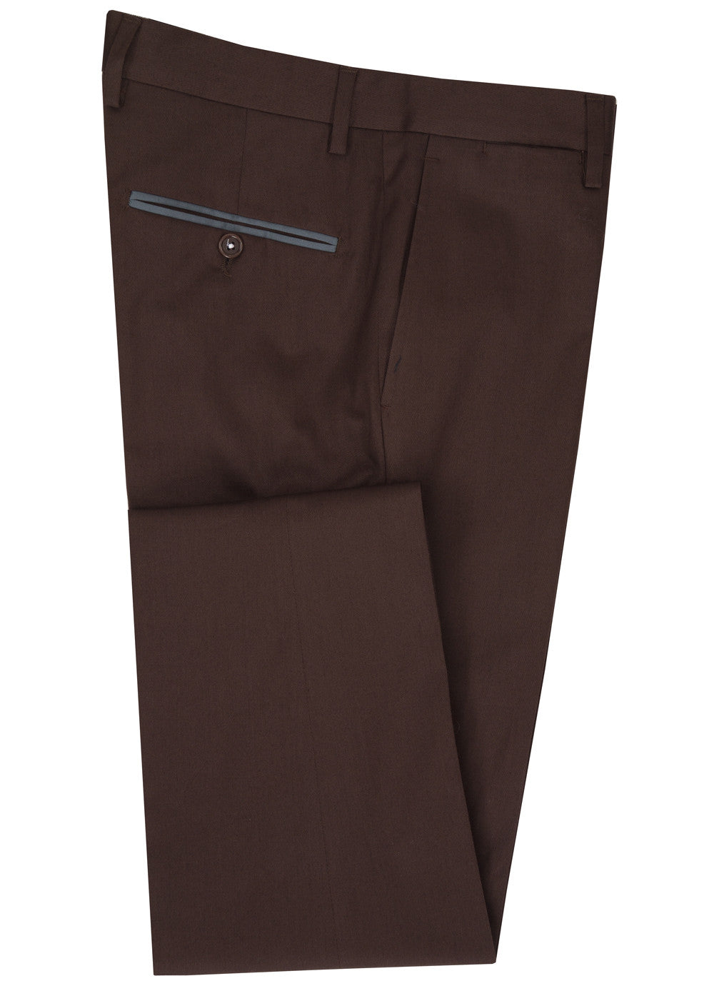Brown Trim Pant