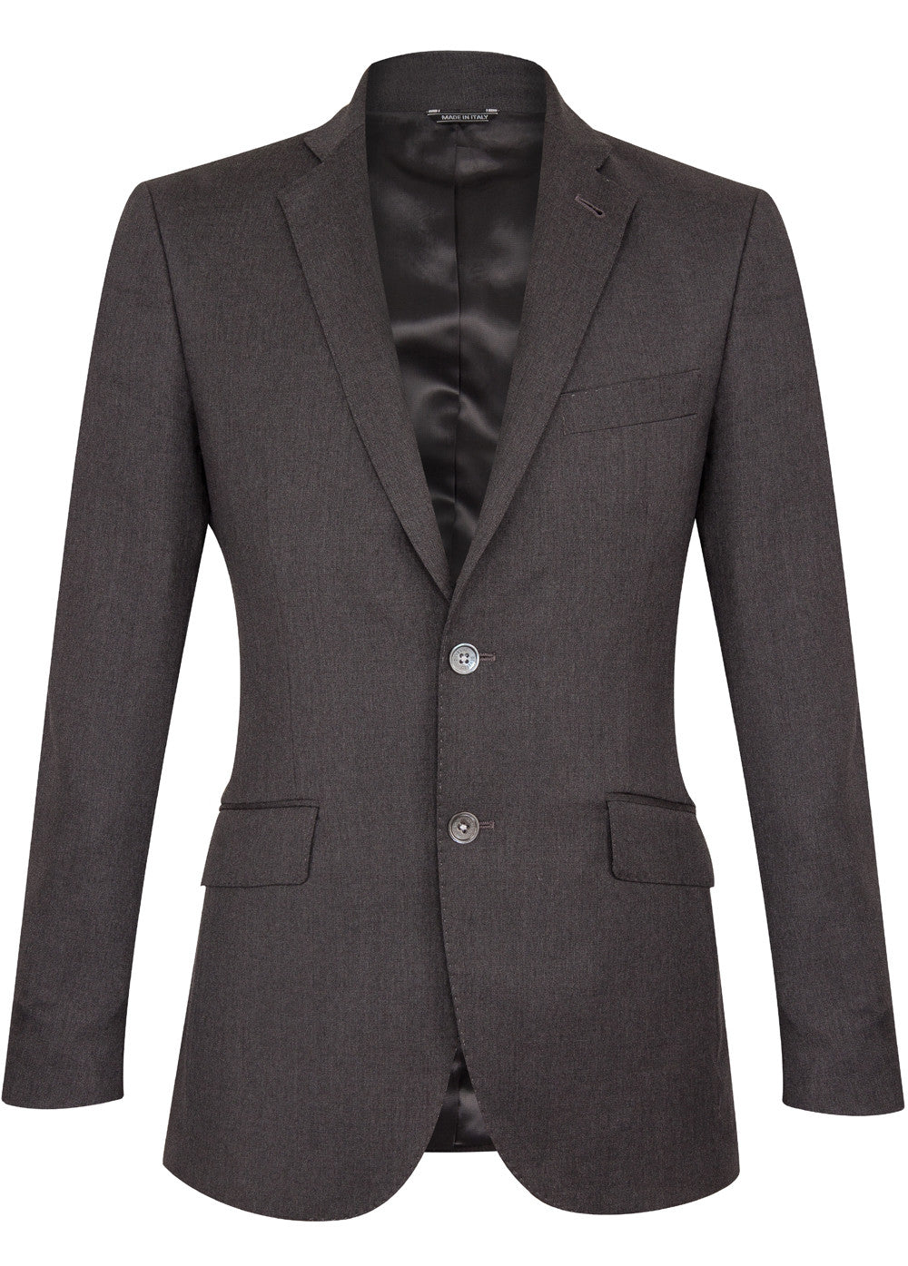 Grey Luxury Wool Blazer