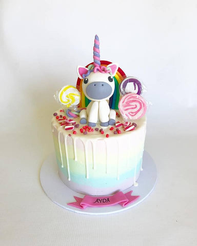 Unicorn drip cake - Fondant and ganache Basics - Tuesday May 29th, 5:30pm – 8:30pm