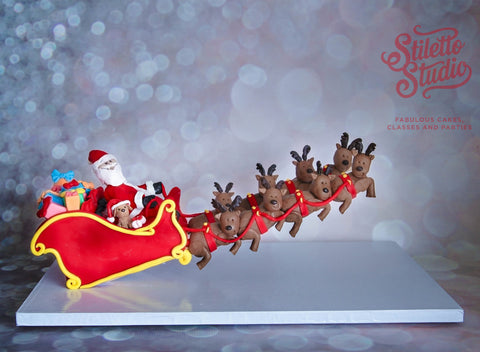 Gravity Defying Santa Sleigh class - Saturday December 2nd - 9am - 4pm (approx)