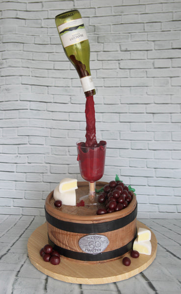 Gravity Defying Wine Cake - Saturday September 30th, 9:30am - 2:30pm