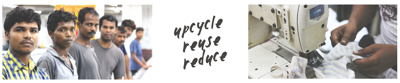 upcycle sustainable fashion