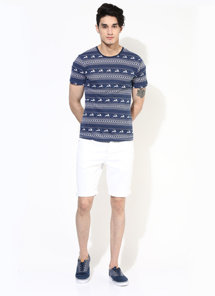 1ba557ca2 ... Allover Printed T-Shirt | Limited Edition Deer Print T-Shirt | Ethical  Fashion ...