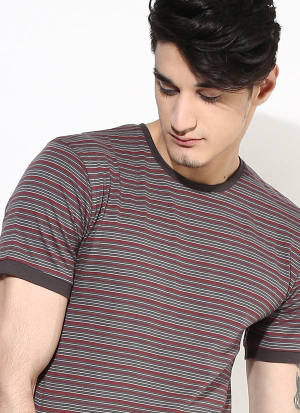 Organic Cotton Stripe T Shirt Holiday Sale Ethically