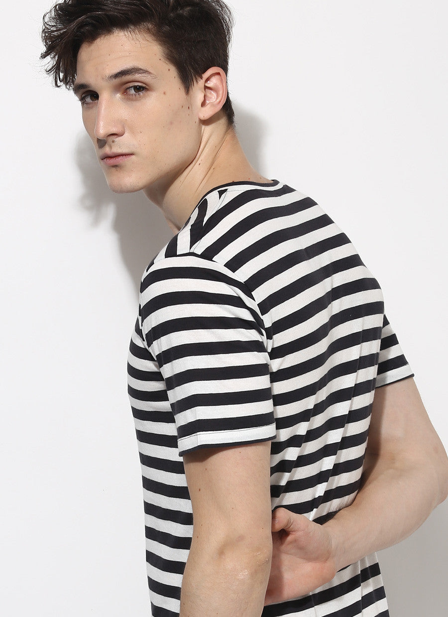 Black and white striped t shirt xxl - Black And White Striped T Shirt Xxl Organic Cotton Black Stripe T Shirt
