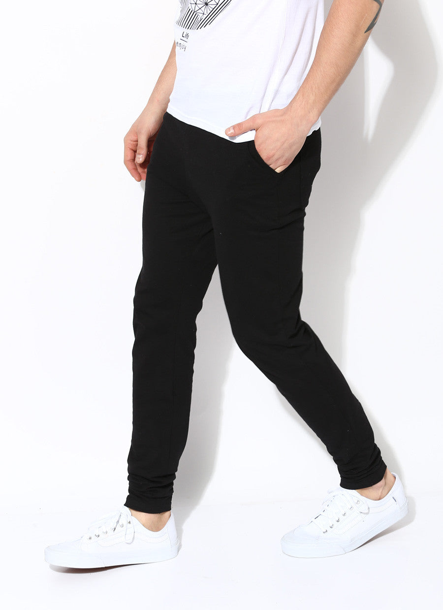 c9302f042 Organic Cotton Joggers | Mens's Black Sweatpants | Men's Joggers ...
