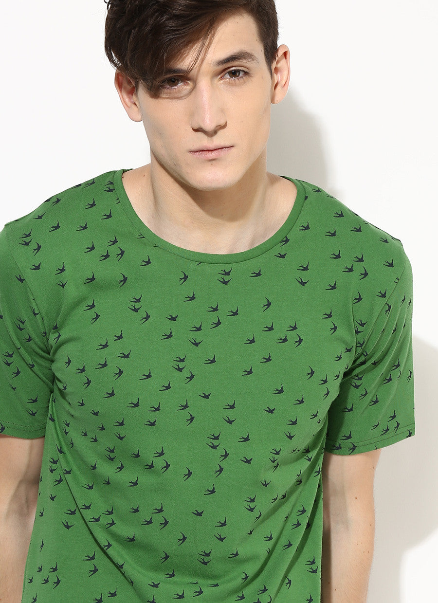 Printed Organic Cotton T Shirts For Men Sustainable Fashion For