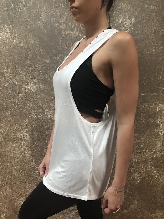 Tough Luv Twisted Open Back Tank