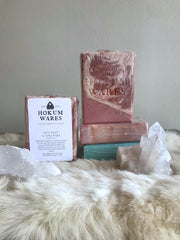 Hokum Wares Sea Salt + Orchid Cold Pressed Soap