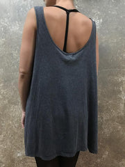 Tough Luv Button Up Tank