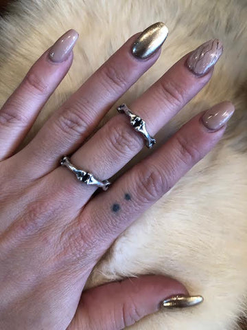 Hellhound Jewelry Deep Six Ring