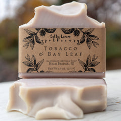 Salty Lemon Apothecary Tobacco & Bay Leaf Soap