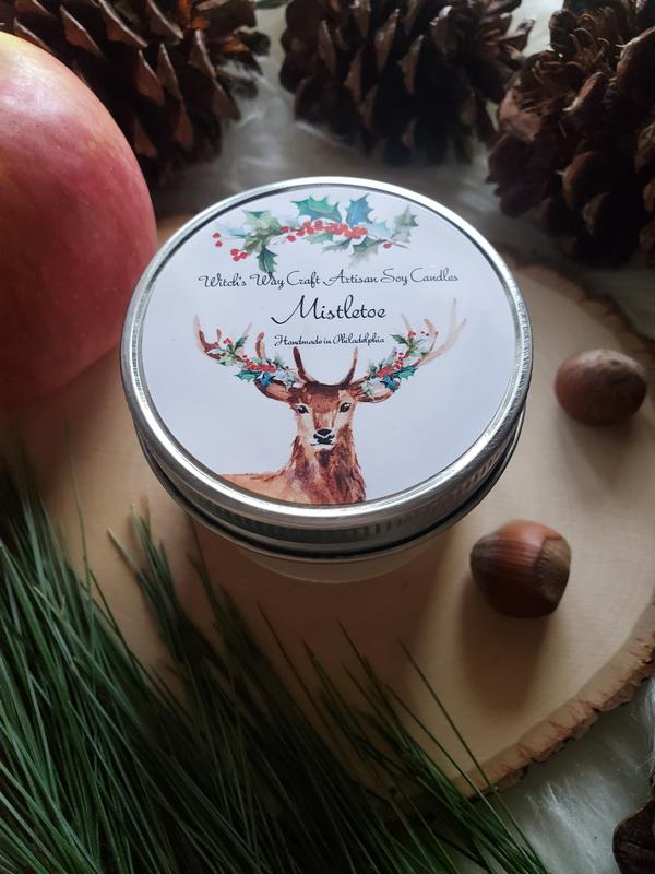 Witch's Way Craft Mistletoe Candle