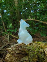 Witch's Way Opalite Wolf