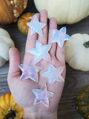 Witch's Way Hammered Opalite Star