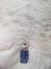 Toile Blue Kyanite Necklace