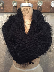 Independent Flavor Black Scarf