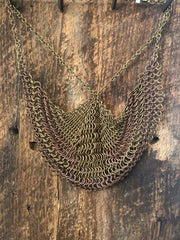 Ozma Chain mail Necklace