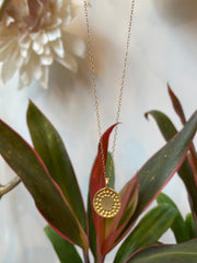Susan Rifkin Gold Coin Necklace