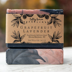 Salty Lemon Apothecary Grapefruit Lavender Soap