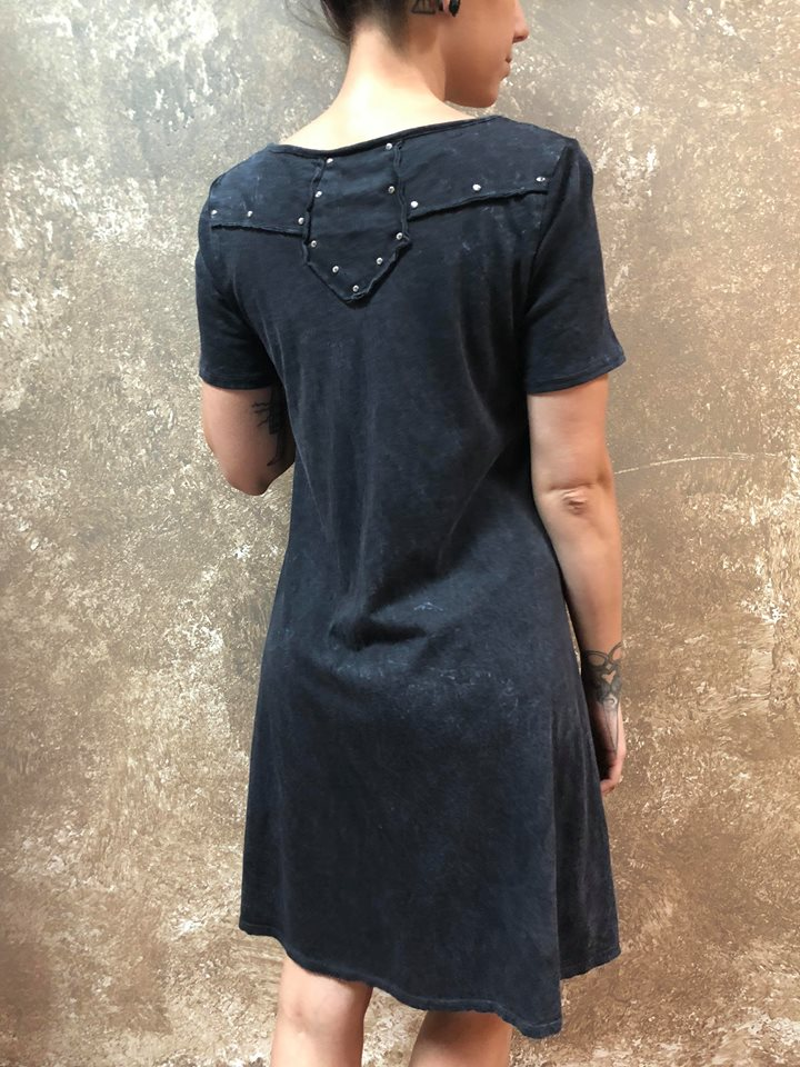 Tough Luv Acid Washed Dress