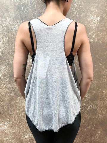 ADHD Driven Heather Grey Tank