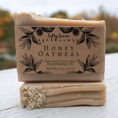 Salty Lemon Apothecary Honey Oatmeal Soap