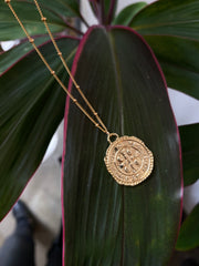 Nuance Wonderlust Necklace ~ St Benedict Medal