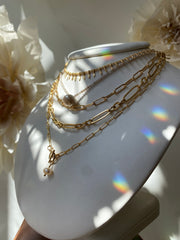 Susan Rifkin Crystal Droplet Necklace