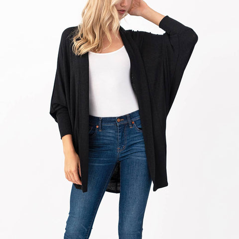 Natural Life Black Cardigan