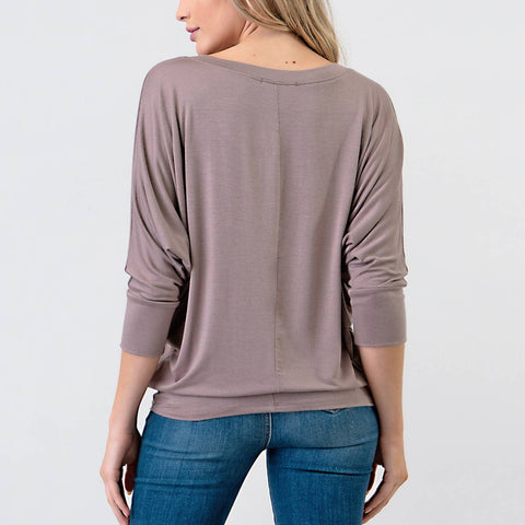 Natural Life Natural Dolman Top