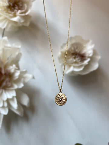 Nuance Nova Charm Necklace ~ Star Disc